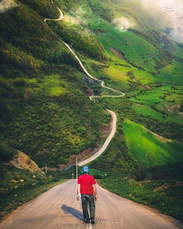 طبیعت ارسباران در آذربایجان شرقی