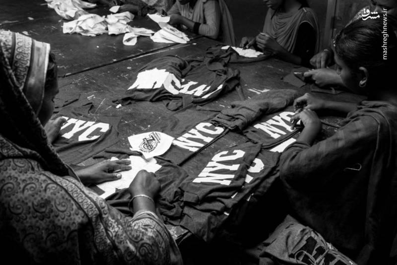 خیلی از برندهای معروف دنیا در بنگلادش تولید می شوند.