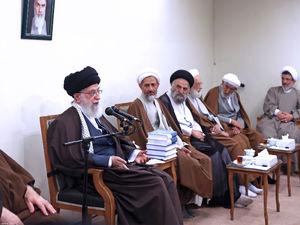 عکس/ دیدار دستاندرکاران همایش حکیم طهران با رهبر انقلاب