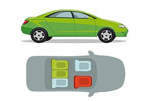 فیلم/ صندلیهای امن وسایل نقلیه کدام است؟