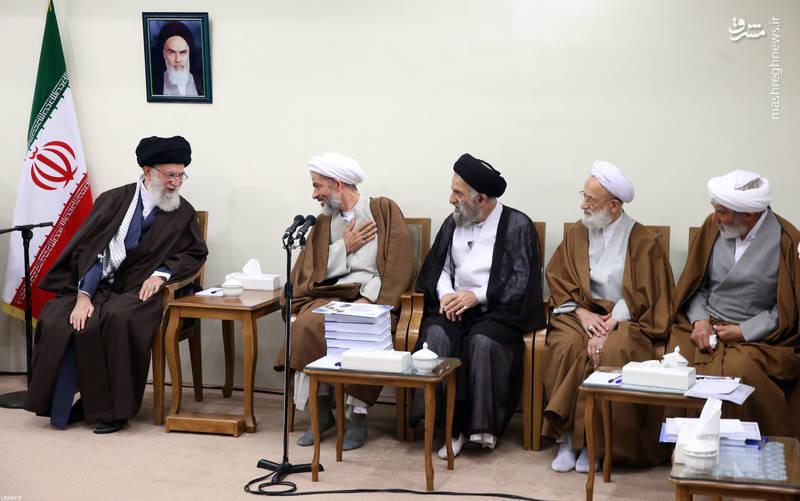 دیدار دستاندرکاران همایش حکیم طهران با رهبر انقلاب
