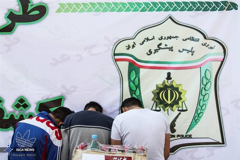 عکس/ عملیات رعد نیروی انتظامی در تهران