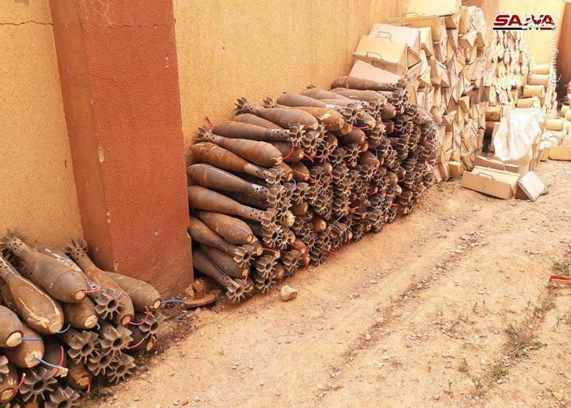 عکس/ کشف انبار تلههای انفجاری در قلمون شرقی