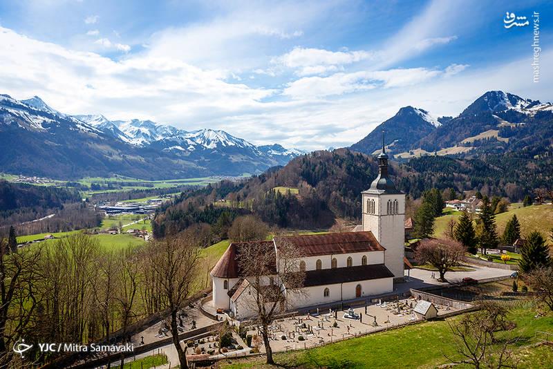عکس/ روستایی با حال و هوای قرون وسطی!