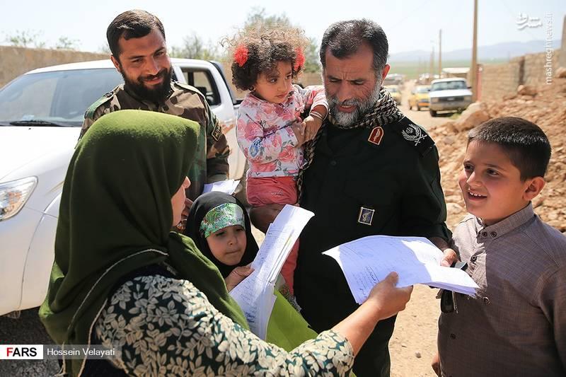 مراسم تحویل واحدهای مسکونی به زلزلهزدگان کرمانشاه