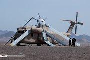 بقایای  ادوات نظامی آمریکا در صحرای طبس
