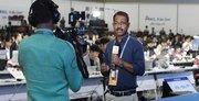 سالن رسانه های اجلاس سران دو کره