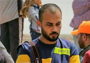 شهادت خبرنگار مجروح فلسطینی +عکس