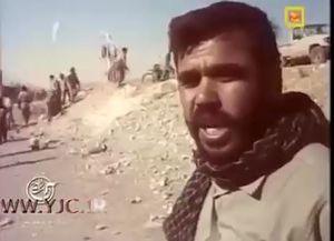 فیلم/ فرمانده حشدالشعبی عراق در جنگ تحمیلی