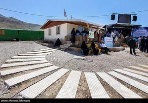 عکس/ سنگ تمام سپاه برای زلزله زدگان