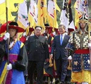 عکس/ سفر رهبر کره شمالی به کره جنوبی