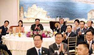 ضیافت شام سران کره شمالی و کره جنوبی