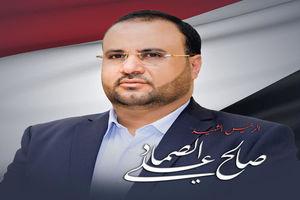 """فیلم/ حضور مردم صنعا در تشییع پیکر""""صالح الصماد"""""""