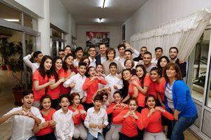 عکس/ دیدار بشار و اسما با فرزندان شهدا