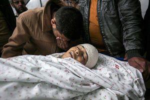عکس/ شهادت مظلومانه یک کودک فلسطینی