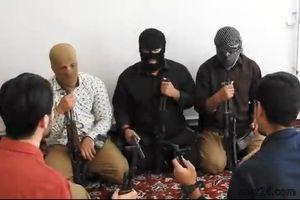 فیلم/ جلسه رسیدگی به اتهامات تروریستی های داعش