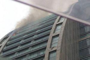 آتش سوزی «برج ترامپ» در آذربایجان
