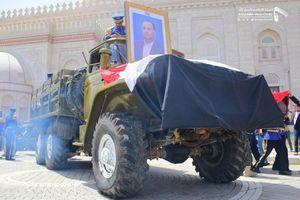 عکس/ حضور میلیونی مردم یمن در تشییع پیکر «صالح الصماد»