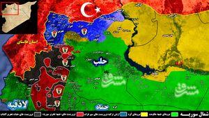واکنش قاطع جبهه مقاومت به تحرکات تروریستهای مورد حمایت ترکیه در حلب + نقشه میدانی