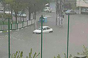 سیلاب در تبریز