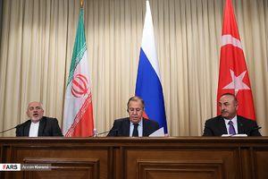 کنفرانس مطبوعاتی وزرای خارجه ایران، ترکیه، روسیه
