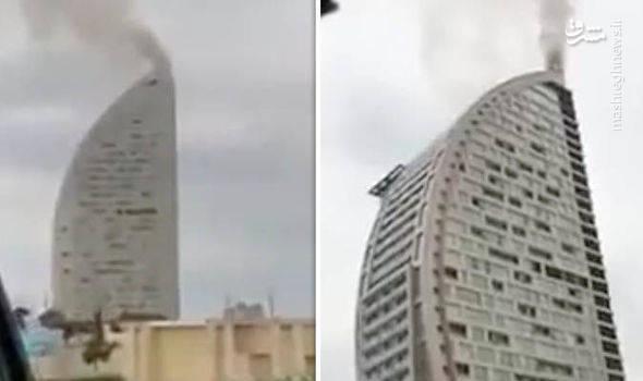 ساختمان «برج ترامپ» در باکو پایتخت آذربایجان