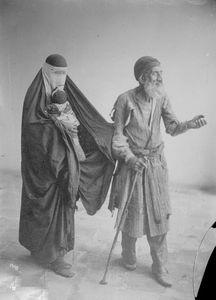 عکس/ گدایی در زمان قاجار