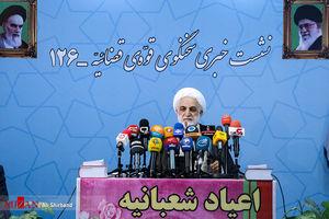 عکس/ نشست خبری سخنگوی قوه قضاییه
