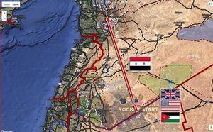 حمله موشکی به سوریه از شمال اردن/ آخرین آمار از تعداد شهدا و مصدومین +عکس و فیلم