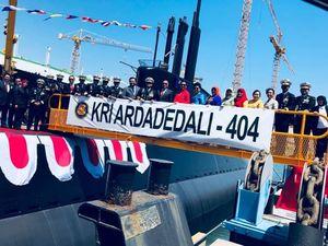 اندونزی زیردریایی جدید دریافت کرد+عکس