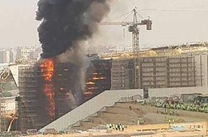 آتش سوزی مصر