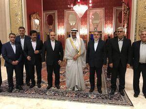 قول شیخ احمد به مسئولان فوتبال ایران
