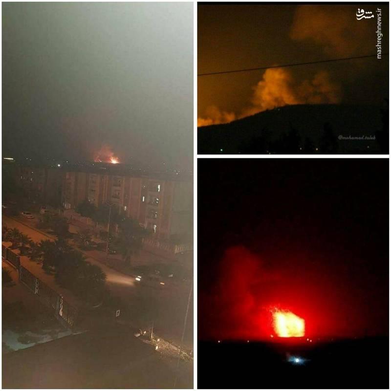 برخی منابع خبری بامداد دوشنبه از وقوع انفجار در پایگاههای ارتش سوریه، واقع در حومه «حماه» و «حلب» خبر دادهاند.