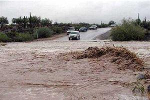 فیلم/ سیلاب در روستای تاشار شهرستان ایذه