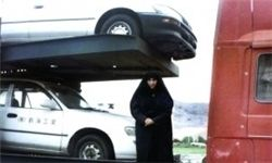بانویی چادری که سلطان جادههاست +عکس
