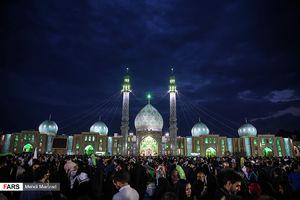 عکس/ مسجد جمکران در آستانه نیمه شعبان