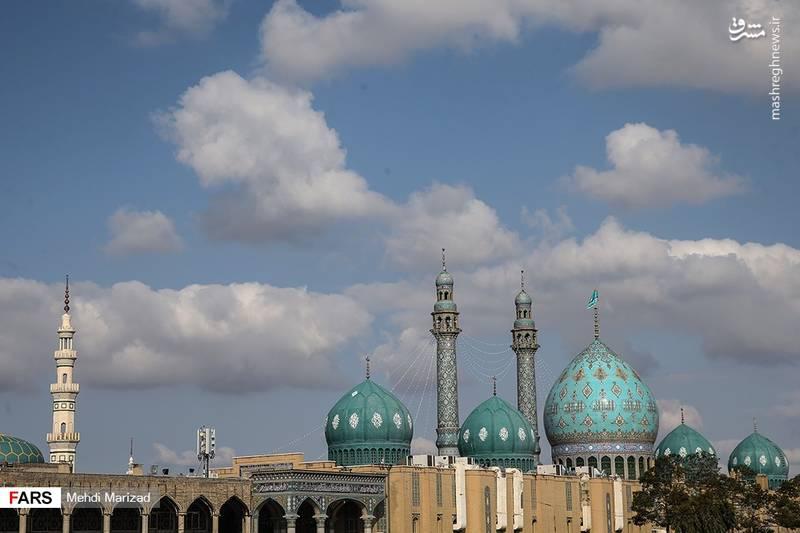 مسجد جمکران در آستانه نیمه شعبان