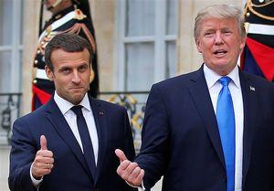 ترامپ و ماکرون