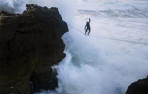 عکس/ ماجراجویی در سواحل پرتغال