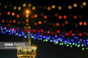 عکس/ جشن نیمه شعبان در مسجد جمکران و حرم امام رضا(ع)