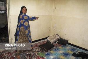 عکس/ خسارت زمین لرزه در یاسوج