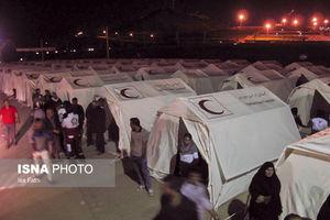 عکس/ اسکان زلزله زدگان یاسوج در چادر