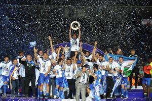 مراسم اهدای مدال و جشن قهرمانی جام حذفی