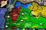 شکرکشی مجدد ترکیه به جنوب ادلب + نقشه میدانی