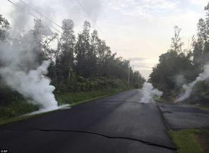 عکس/ گدازههای آتش در خیابانهای هاوایی