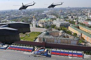 عکس/ تمرین رژه «روز پیروزی» در روسیه