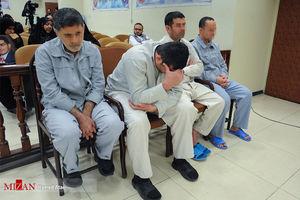 عکس/ چهارمین جلسه دادگاه عوامل داعش در ایران