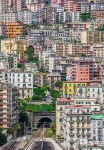 """عکس/ نمایی زیبا از شهر """"ناپل"""""""