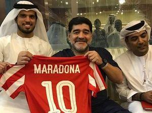 مارادونا در امارات خواهد ماند؟
