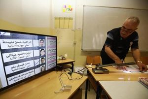 شمارش آراء در انتخابات لبنان